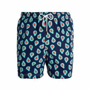 98 Coast Av Men's Swim Shorts in Avocado Print